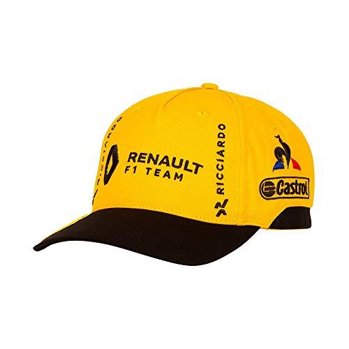 Le Coq Sportif Renault Cap Amber Yellow/Black Casquette Mixte Adulte, Taille Unique