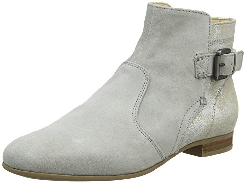 Geox D MARLYNA G, Botines Mujer, Gris (Lt Grey/Silver), 37.5 EU