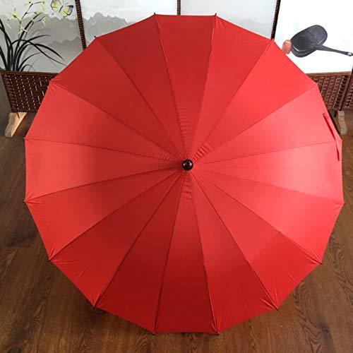 BAIYI Lange Handvat Golf Paraplu Automatische Rechte Golf Paraplu Creatieve Digitale Paraplu Outdoor Golf Paraplu Golf Paraplu