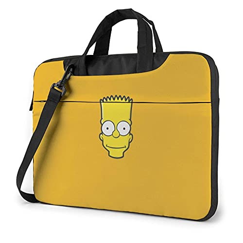 XCNGG S-Impsons Laptop Bag Tablet Maletín portátil Funda protectora Funda Messenger Bags 14 pulgadas