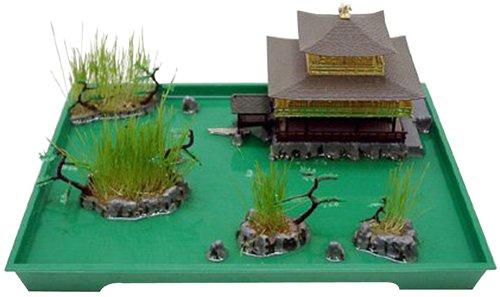 1/200 Serie Miniaturgarten No.08 Tempel des Goldenen Pavillon (Japan Import / Das Paket und das Handbuch werden in Japanisch)