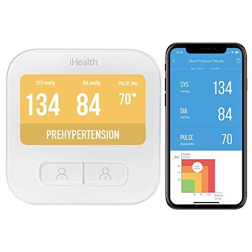 iHealth iHealth Clear Wireless Blutdruckmessgerät iHealth Clear, White, Uni, BPM1