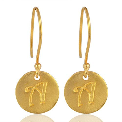 Solid 10k Gold Over Sterling Women Save money Girls National products Earrings Silver for