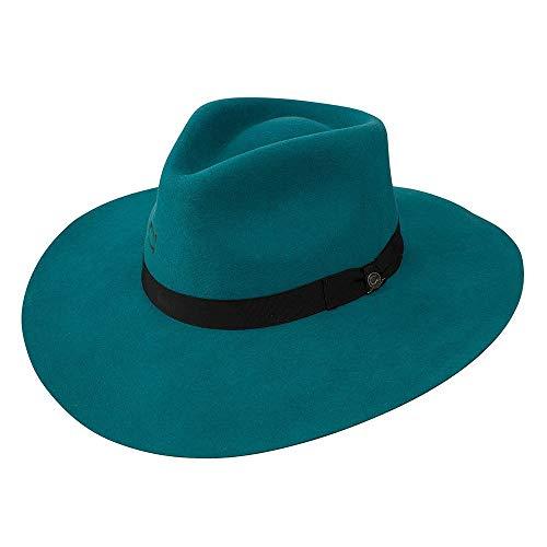 Charlie 1 Horse Hats Womens Highway 3 3/4 Brim M Teal