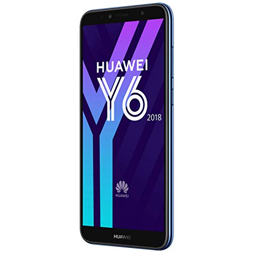 Huawei 774797 14,47 cm (5,7 Zoll) Y6 (2018) Smartphone (16 GB, Android 8.0 (Oreo)) blau