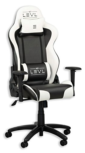 LEVL Gaming Alpha Series Gaming Chair,Office Chair, Heavy Duty, with Neck and...