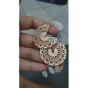 ✿ GOLDENE AUSGESTANZTE MANDALAS ✿ aussergewöhnliche Ohrringe