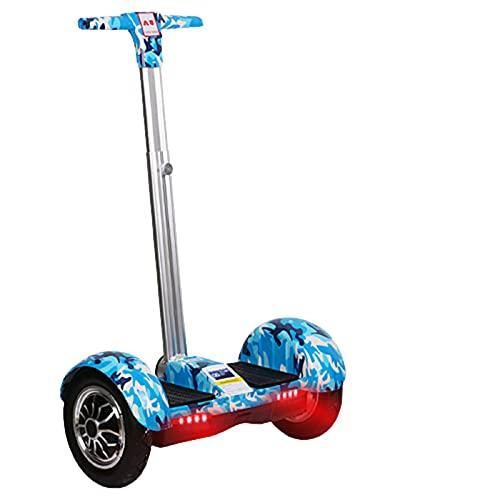 Patinetes Acrobacias Electricos Adultos Ninas Adolescentes Scooter de Equilibrio Inteligente con reposabrazos...