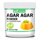 Agar Agar Powder, 5.3 oz(150g), 100% Natural Seaweed