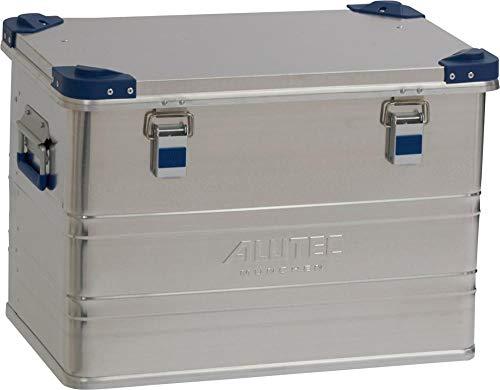 ALUTEC MÜNCHEN 2013073 aluminium box Industry van 1 mm dik aluminium plaat, zilver, 592 x 385 x 409 mm