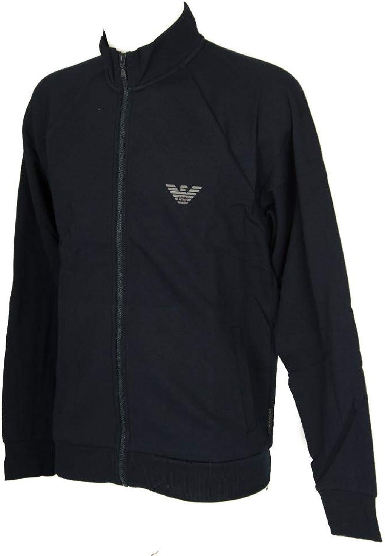 Emporio Armani Sweater Jacke mit Reiverschluss 111570 8A571 00135 Marine SH18-EAS1