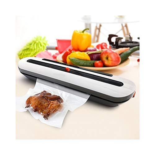 ASYCUI Cuisine Vide Scellant Machine Food Saver 110V 220V électrique Accueil Vide Alimentaire Scellant Chine, y Compris Les Sacs de Stockage (Color : White)