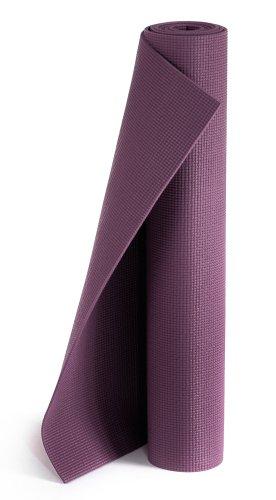 Yogistar Plus Materassino da Yoga, Viola (Aubergine)