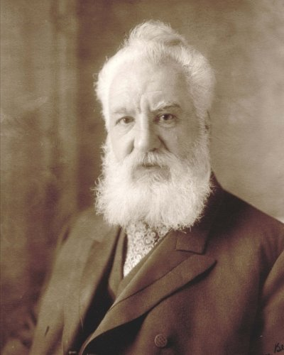 """Daily Organizer and Planner: Alexander Graham Bell: 180 Day 8"""" x 10"""" Journal Notebook Day Planner"""
