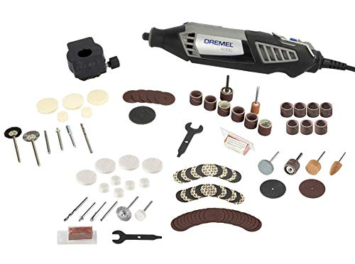 Dremel 4000 Series Rotary Tool Kit & Accessory Kit (Renewed)