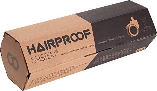 Efalock Professional Laufrolle Hairproof, passend für alle Efalock Rollhocker, 1er Pack (1 x 5 Stück)