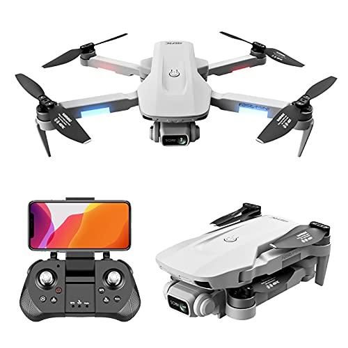ZYUN Drone RC Pieghevole 4k, Quadcopter GPS con Trasmissione 5G, Motore Brushless, Ritorno Automatico A Casa, Seguimi, modalità Senza Testa, Selfie con Gesti, Funzioni Waypoint