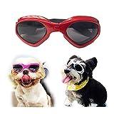 LHKJ Gafas de Sol para Mascotas Perros protecci/ón UV para Perros medianos y peque/ños