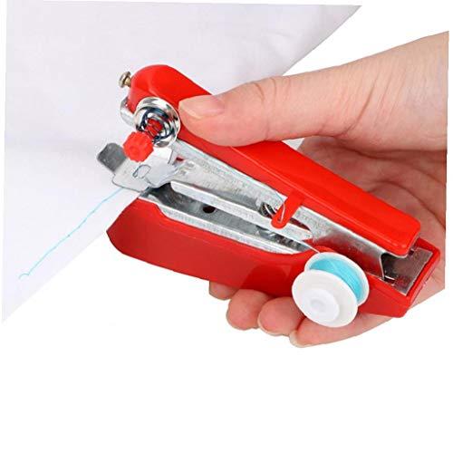 Case&Cover Herramientas de Costura Simples Manual de Operación portátil Mini máquina de...