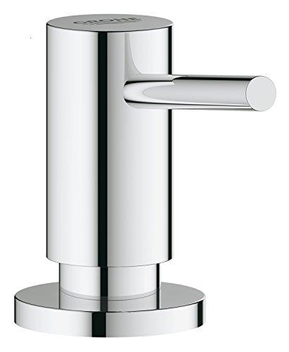 GROHE 40535000 Cosmopolitan Küchenarmatur Spülmittelspender (für Flüssigseifen, Vorratsbehälter 0,5 L)