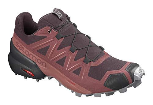 SALOMON Speedcross 5 GTX Gore-Tex Damen Traillaufschuhe, Rot (Mehrfarbig), 37 EU