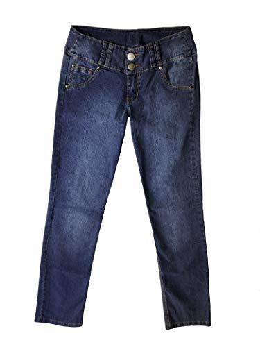 Pantalón De Mujer Jeans Push-Up Vaquero Levanta Cola Colomb