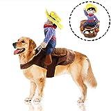 Fansu Kostüm Hund Haustier Hund Katze Kostüme, Einstellbare Cowboy Kleidung Netter Party Cosplay...