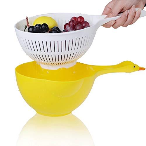 Qiutianchen Teller Drain Baskaskorb Drain Rack Haushalt Küche Besteck Tasse Teller Obst und Gemüse Aufbewahrungsstack Trockner 37.4x20.4x13.3cm Küchenregal