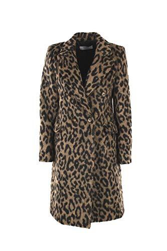 cappotto donna maculato Kaos Cappotto Donna 48 Maculato Li1co049 Autunno Inverno 2019/20