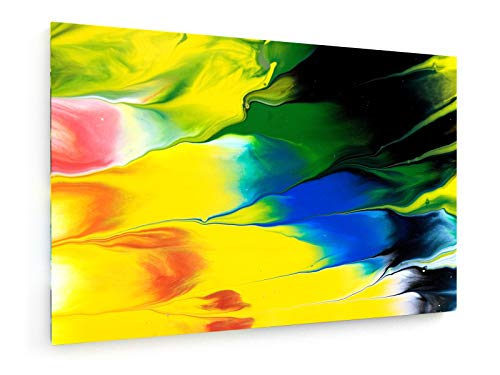 weewado Reichmann Stephan - Jardin d'Eden - RWV 486-12 - 30x20 cm - Impression sur Toile - Art Mural - Tableau, Poster, Affiche, Décoration d'intérieur - Abstrait