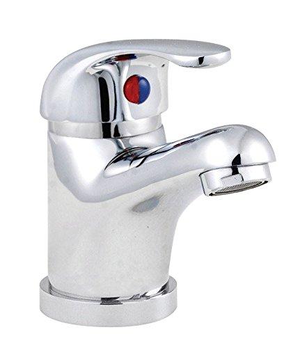 Premier DTY305 Eon Mono Basin Mixer en Pop Up Waste - Chrome door Premier