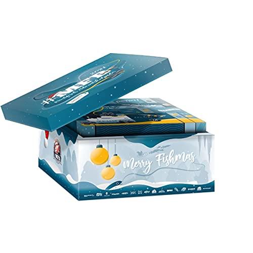 MFB Raubfisch Angel-Adventskalender von MyFishingBox // Bestes Geschenk für Angler // hochwertige Kunstköder