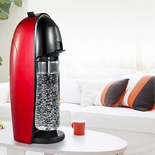EnweLampi Máquinas para Hacer Soda (sin Cilindro de CO2), Portátil Máquina para Soda Carbonator, Hacer Agua con Gas casera, Jugo, café, té y cócteles con Frutas, pequeño electrodoméstico