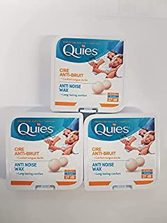 Boules Quies Ear Plugs 3-Pack (B000XABW7W)   Amazon price tracker / tracking, Amazon price history charts, Amazon price watches, Amazon price drop alerts