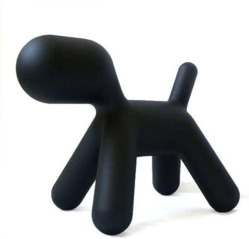 solo para ti Puppy Puppy Puppy Magis by Eero Aarnio - Figura en forma de perro, negro, S  varios tamaños