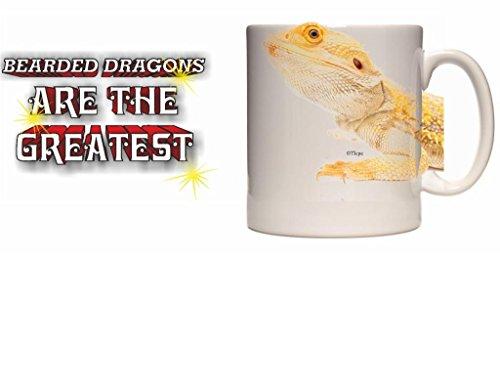 Dragón Barbudo taza de cerámica 10fl oz (media pinta) imagen # ATG3