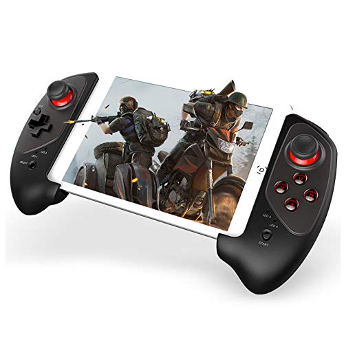 Bluetooth Gaming Controller Für Android Ios Handy Tablet, Mobile Gaming Controller Gamepad Mit Telefonhalter