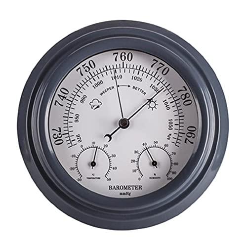 OWENRYIN Termometro 3 in 1 igrometro barometro da parete stazione meteorologica digitale per esterni