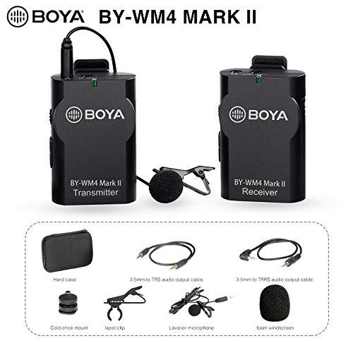 TOOGOO MSN PC de color negro 3,5 mm conector de microfono de corbata-clip 1,75 m R microfono de corbata-clip