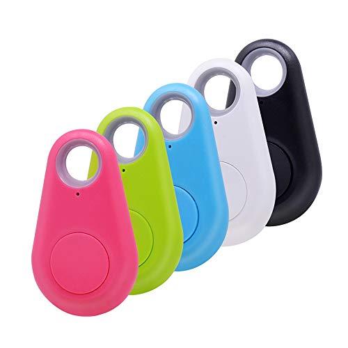 weishenghulian SchlüSselfinder,Mini GPS Tracker,Bluetooth 4.0 Anti-Verlorene Tracker Finder Alarm Sensor Wireless Remote Finder FüR Kinder Tasche Brieftasche SchlüSsel,5 StüCke