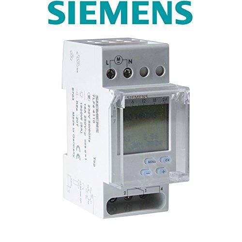 Siemens - Horloge hebdomadaire digitale automatique 2 modules