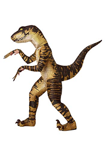 Adult Raptor Fancy Dress Costume X-Large