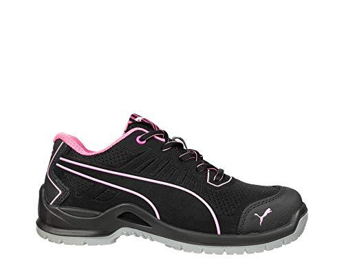 Puma 644110.39Fuse TC Pink Zapatos de Seguridad para Mujer Low S1P ESD SRC Talla 39