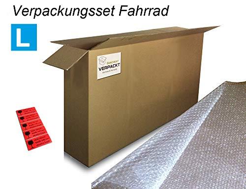 Versandkarton für E-Bikes/Karton für Fahrradtransport im Flugzeug mit Verpackungszubehör