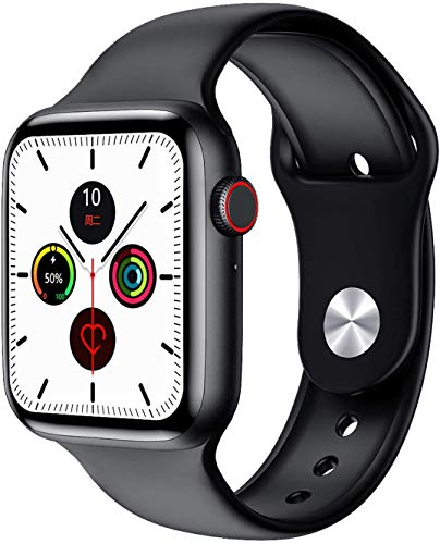 JIAJBG Inteligente Reloj Clásico de la Pantalla Ips Hd de 1,75 Color, Bluetooth Llamada Cámara de Detección Podómetro Del Ritmo Cardíaco de Alarma Del Reloj Pulsera Impermeable Ip68