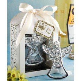 Flaschenöffner Engel der Kommunion in Geschenkbox Originelle Hochzeitseinladungen, Geschenke zur Kommunion und Andenken für Kindergeburtstag