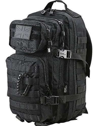 Kombat Unisex Outdoor Molle Assault Pack Backpack Black 28 Litre/Small