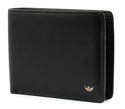 Golden Head Polo RFID Protect Scheintasche 12 cm schwarz