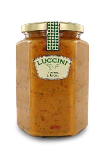 Luccini Salsa Peperina, 750 g, Mostarde - Früchte von höchster Qualität