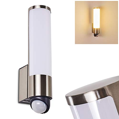 Edelstahl GX53 Lampe 11,5W LED Gartenstrahler BULA mit Erspieß für außen inkl